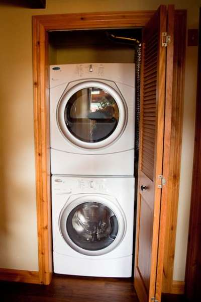 All the conveniences even brand new washer & drier