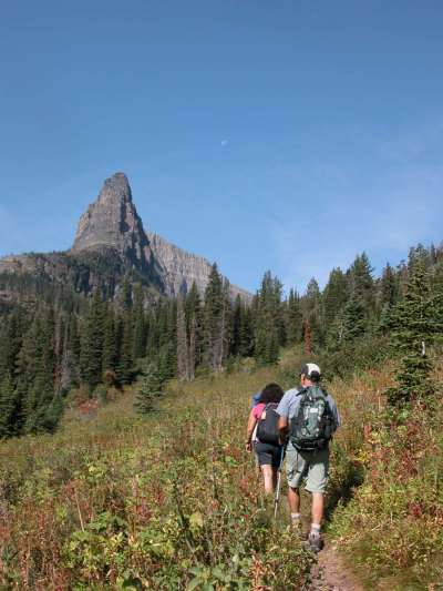 Take a hike up to Dawson Pass in Glacier Park